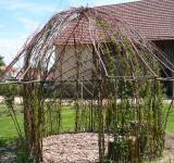 Vrbový domeček - realizace v obce Dědice 2012