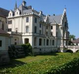 První zastávka - prohlídka parku zámku Grafenegg